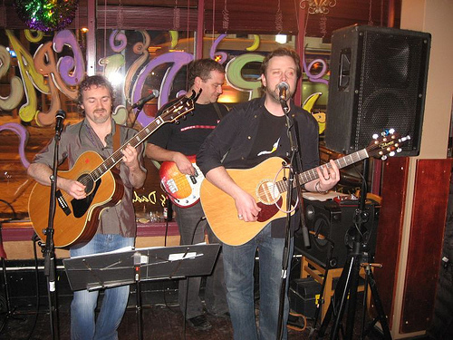 Dave, Mike & Brady at Big Daddy's