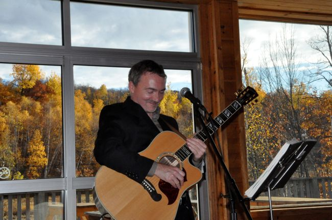 Dave Milliken Performing at a Wedding Ceremony