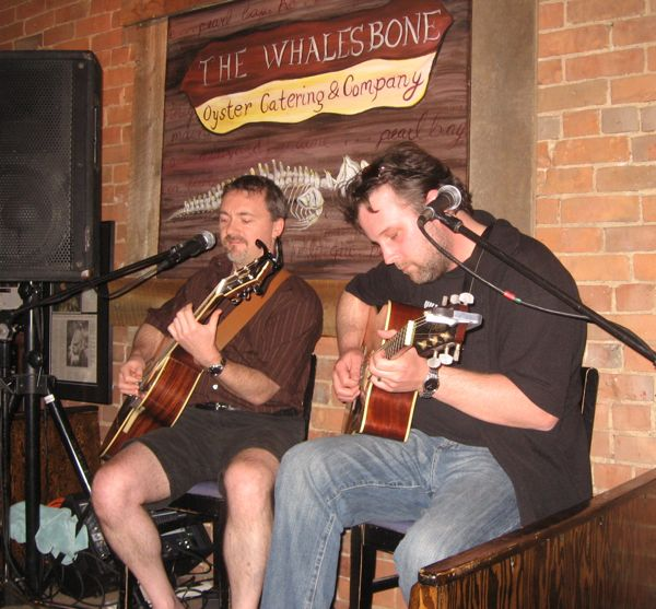 Dave & Brady on the Whalesbone stage